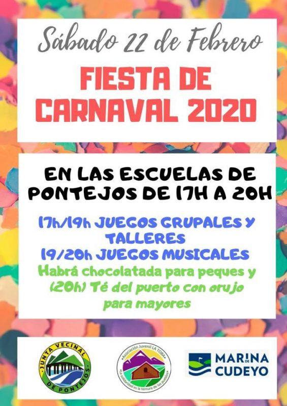 Carnaval en Pontejos 2020