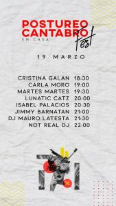 Cartel 19 de Marzo - Postureo Cántabro Fest