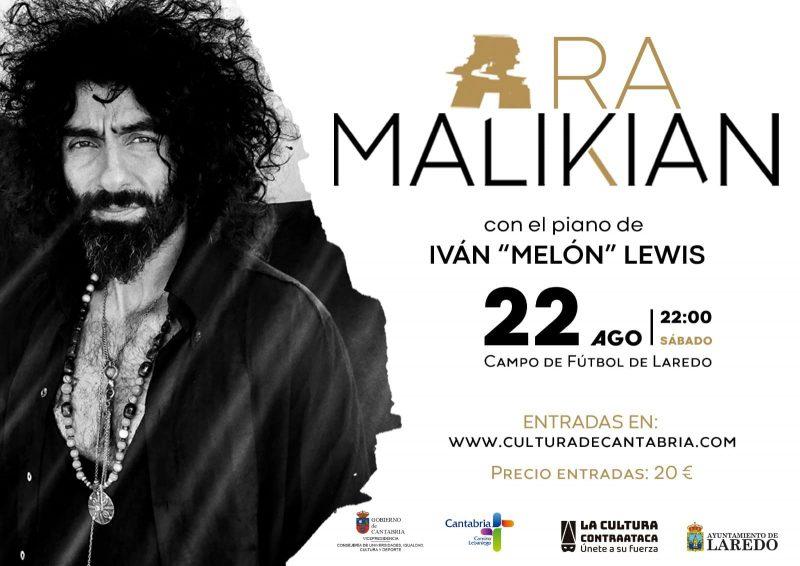 Actuación de Ara Malikian en Laredo 2020