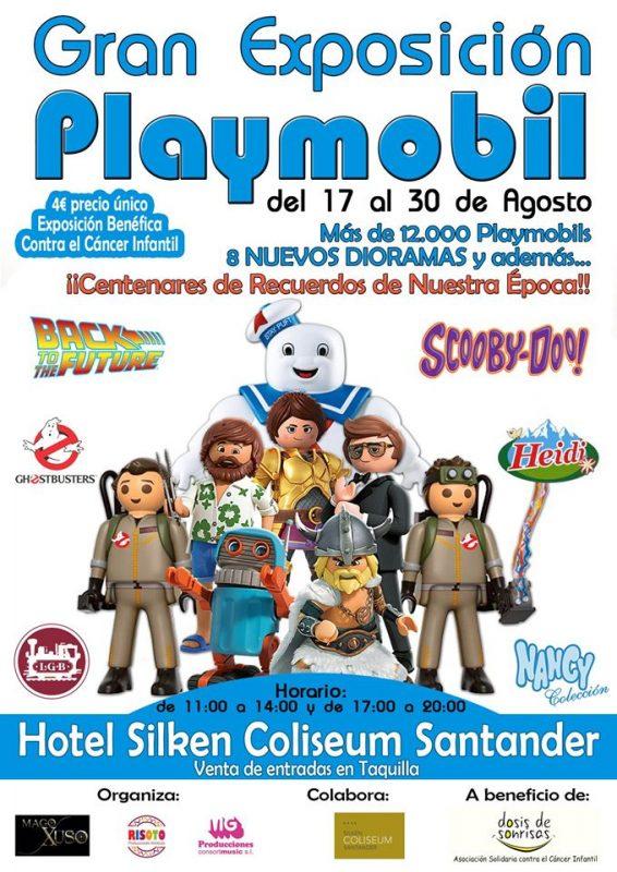 Gran exposición Playmobil en Santander