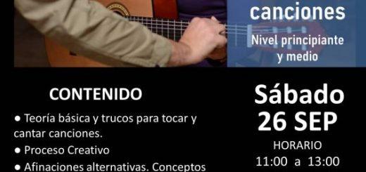 Taller de Guitarra y creación de canciones – Profesor: Marcos Bárcena